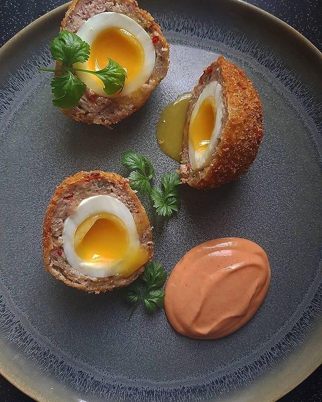 Turkey Scotch Eggs
