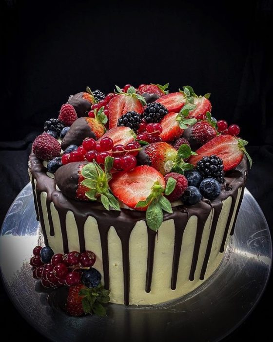 Forest Fruit Cake