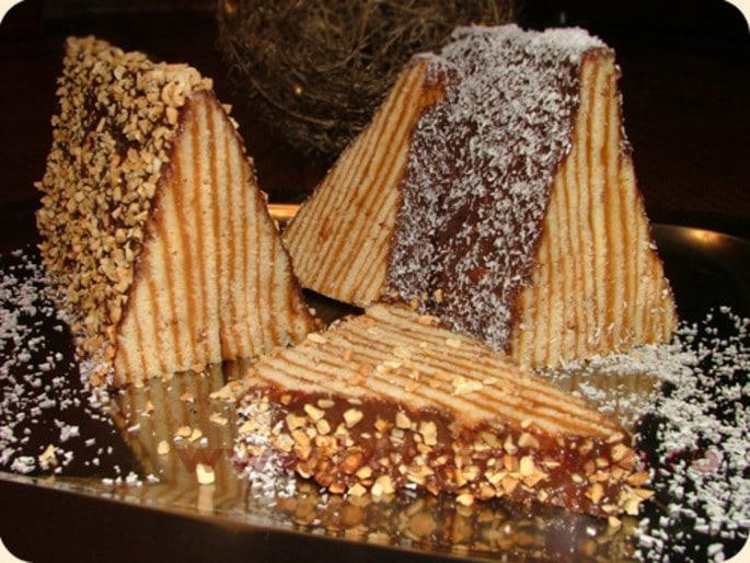 Carpati (Carpathian Mountains cake)