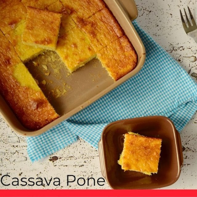 Cassava Pone