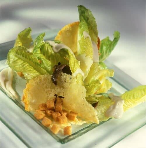 Caesar Salad Recipe by Chef Thomas Wenger
