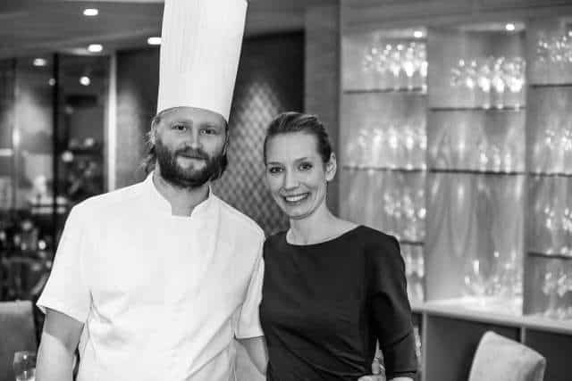 Chef Ulrik Jepsen and His Wife Mia