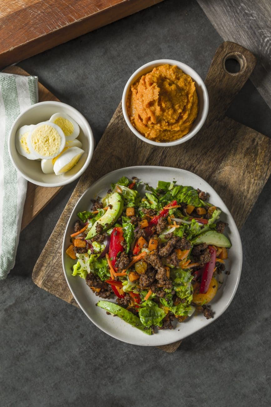 Chimichurri and Spiced Beef Salad