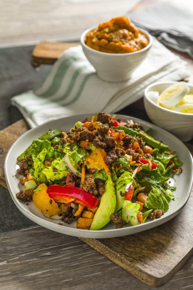 Chimichurri and Spiced Beef Sala