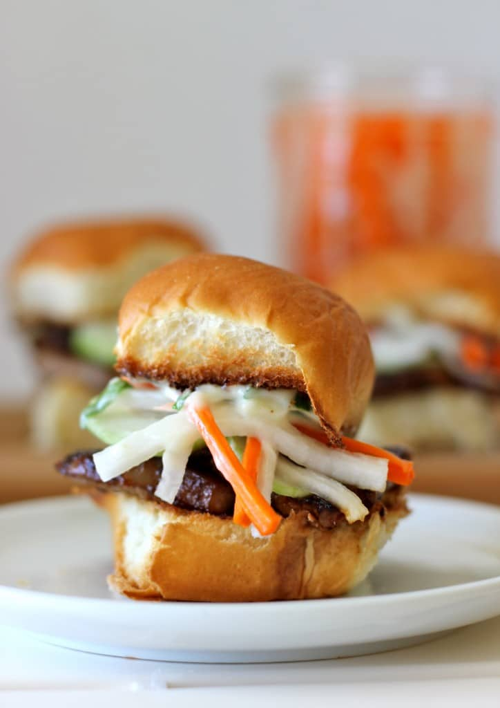 Chinese Pork Belly Sliders