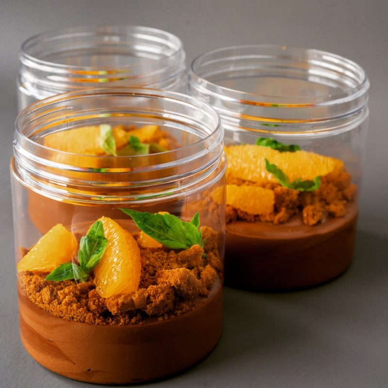 Chocolate Mousse with Oranges