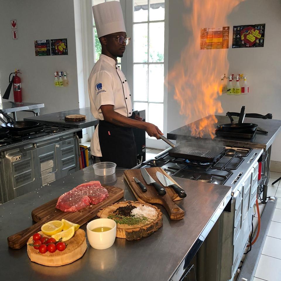 Cooking at Capsicum Culinary Studio