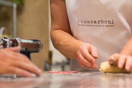 Cooking Classes at Casa Carboni Cooking School