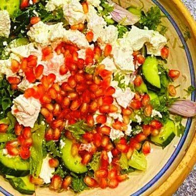 Fresh Summer Salad with Pomegranate