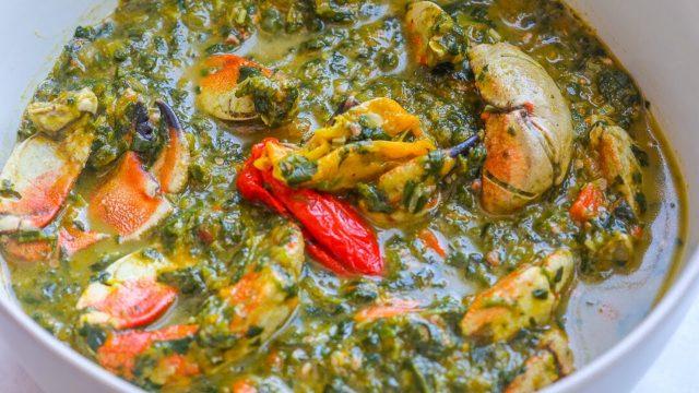 Crab Callalloo