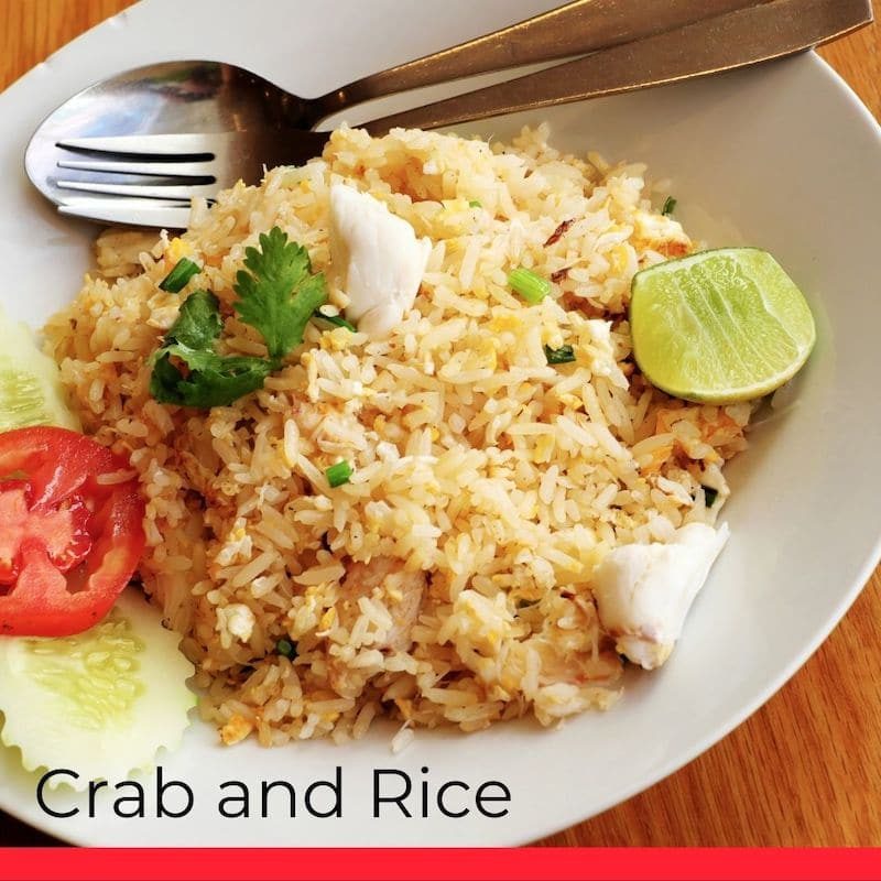 Crab and Rice