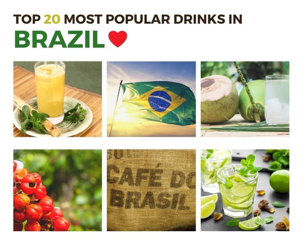 Top Drinks in Brazil