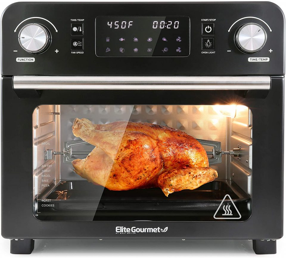 Elite Gourmet EAF9310 Maxi-Matic Digital Programmable Fryer Oven