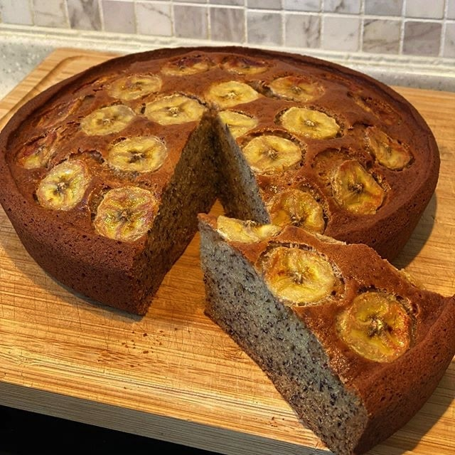 Banana Cake by Chef Nicolas Lambert
