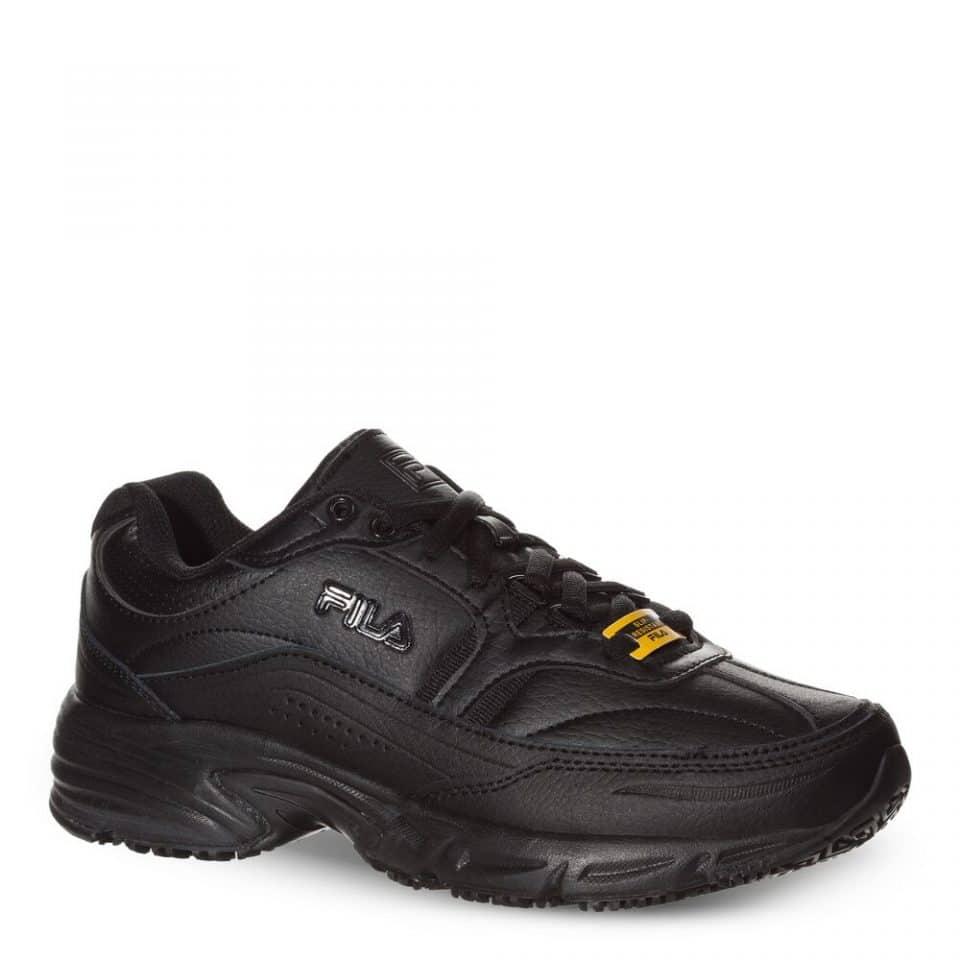FILA Women's Memory Workshift Slip Resistant Wide Width Shoe