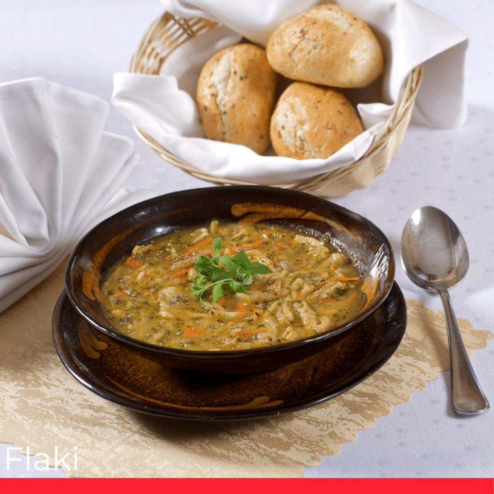 FLAKI (tripe soup)