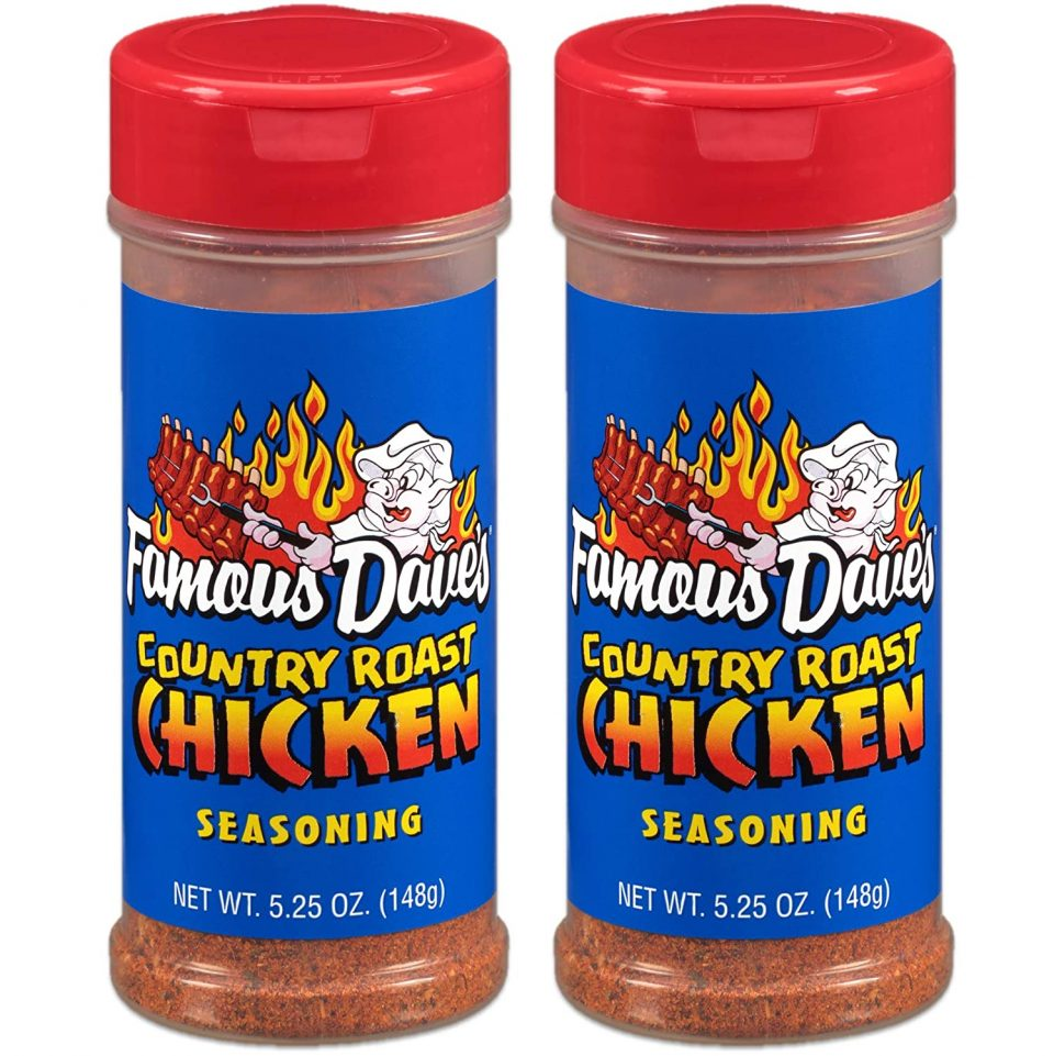 Famous Dave's Country Roast Chicken Seasoning