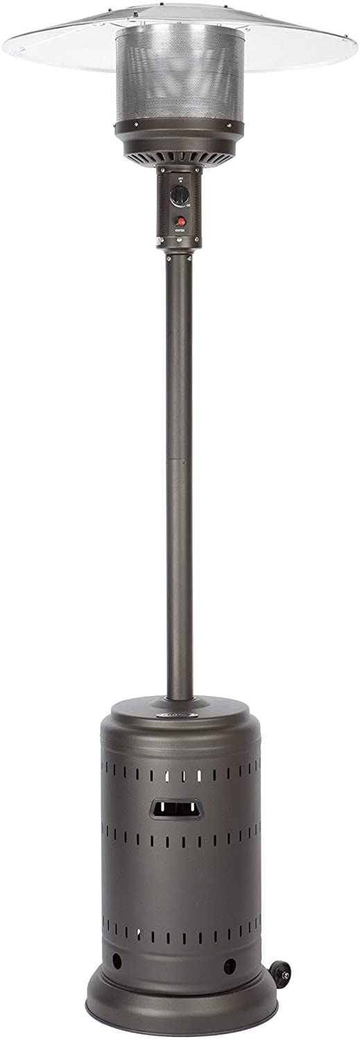 Fire Sense 46,000 BTU Stainless Steel Commercial Patio Heater