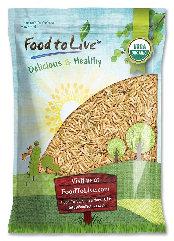 Food to Live Organic Basmati Rice