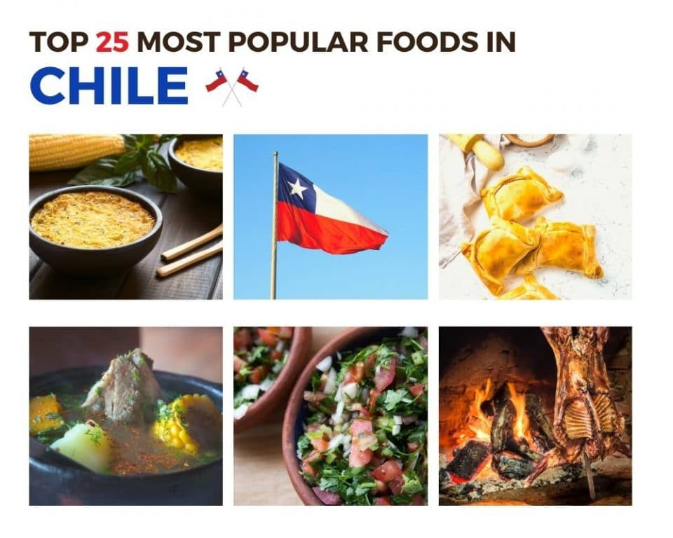Top Foods in Chile