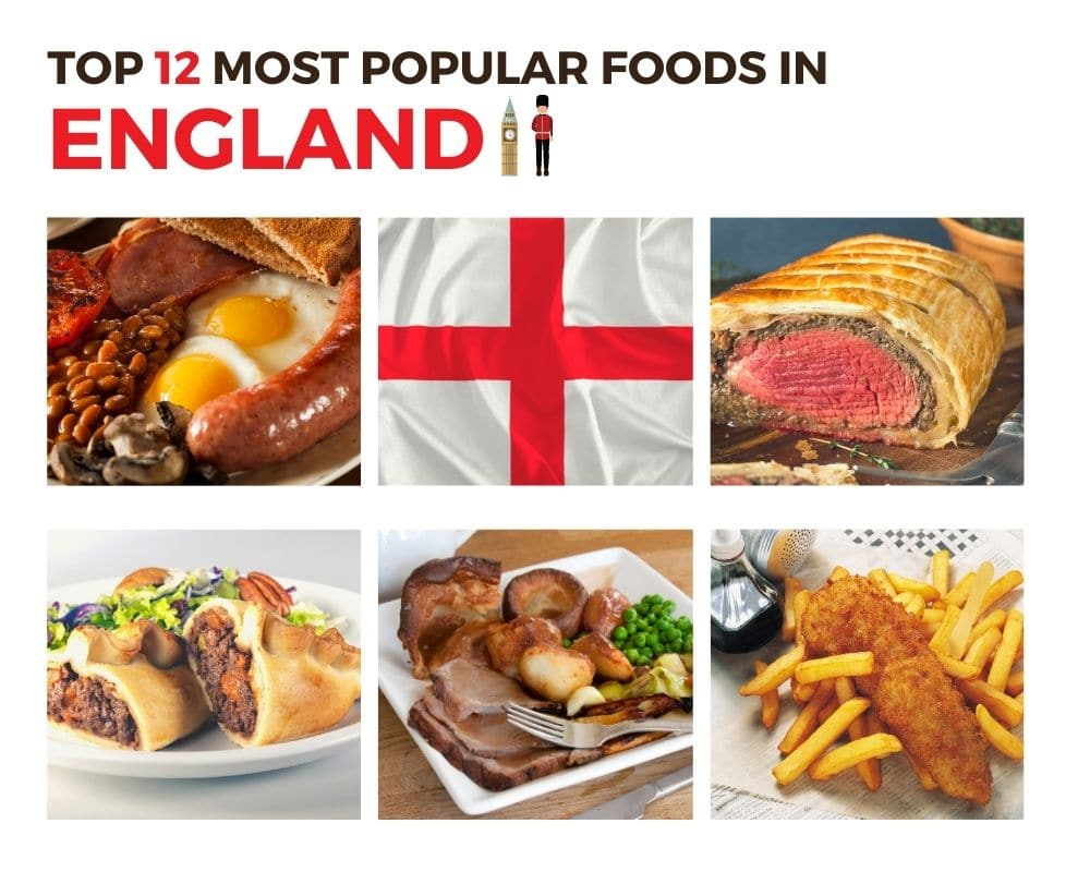 Top Foods in England