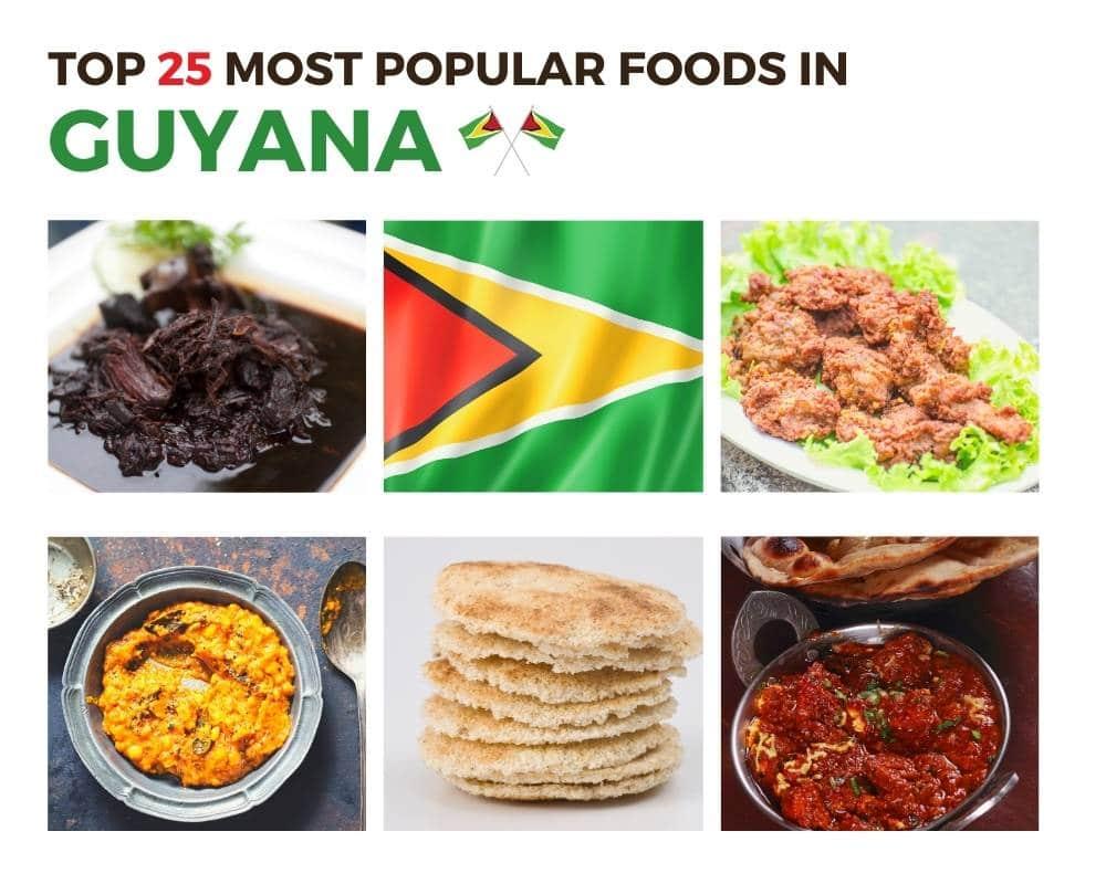 Top Foods in Guyana