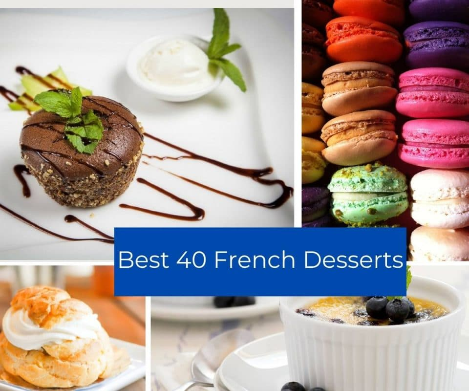 Best 40 French desserts