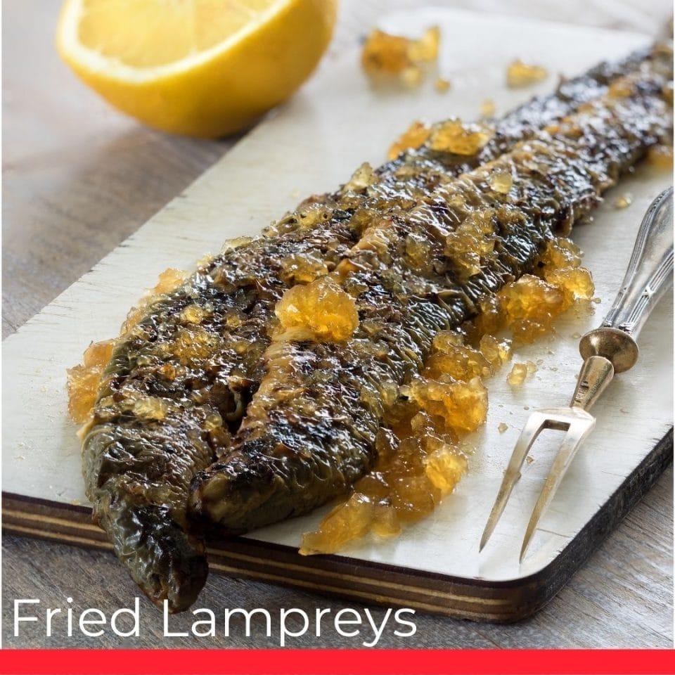 Baked Lampreys