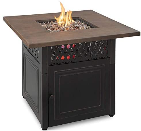 Golden Flame Endless Summer Donovan DualHeat Fire Table and Patio Heater