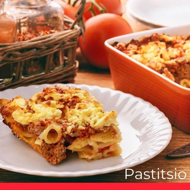 Greek Pastitsio (Baked Greek Lasagna)