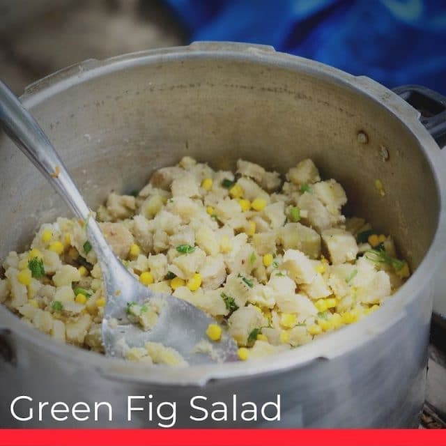 Green Fig Salad