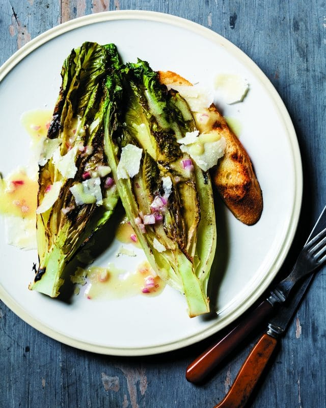 Grilled Romaine Heart Salad