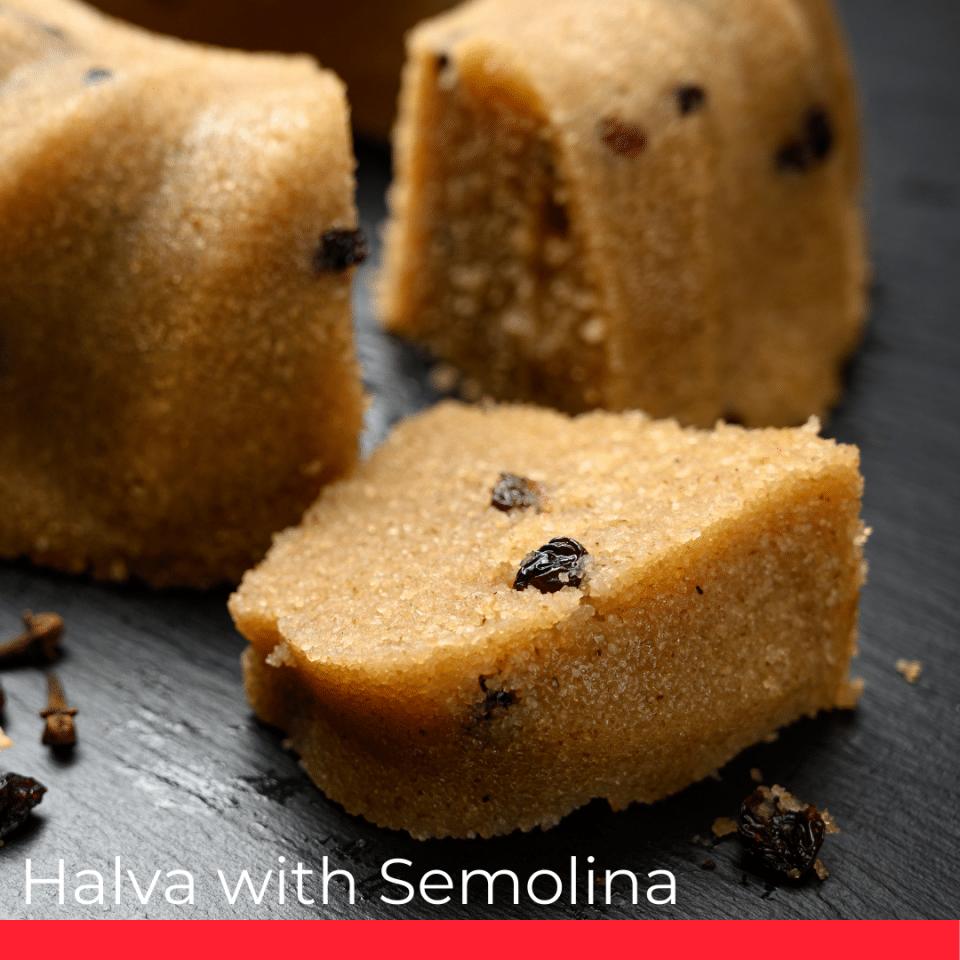 Halva with Semolina