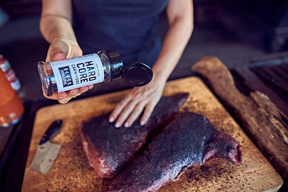 Hardcore Carnivore Black: Charcoal Seasoning for Steak, Beef, and BBQ