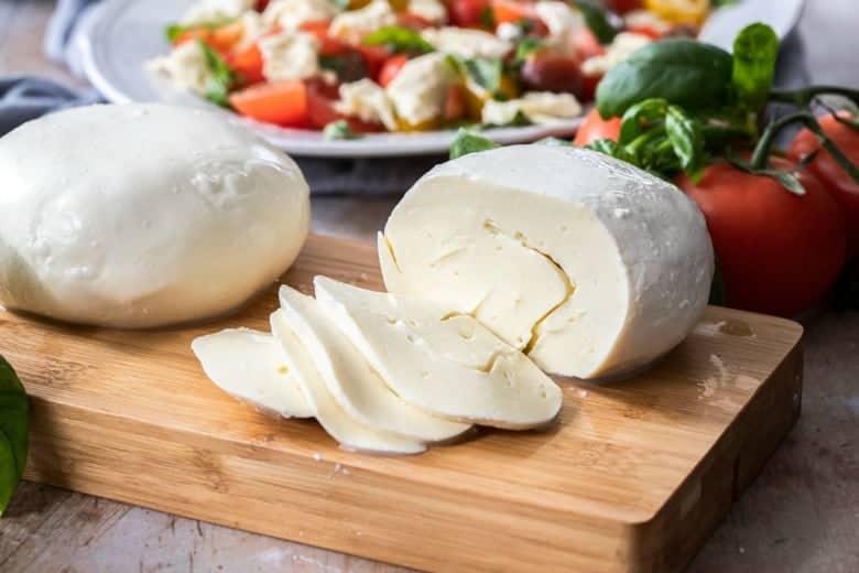 home made mozzarella