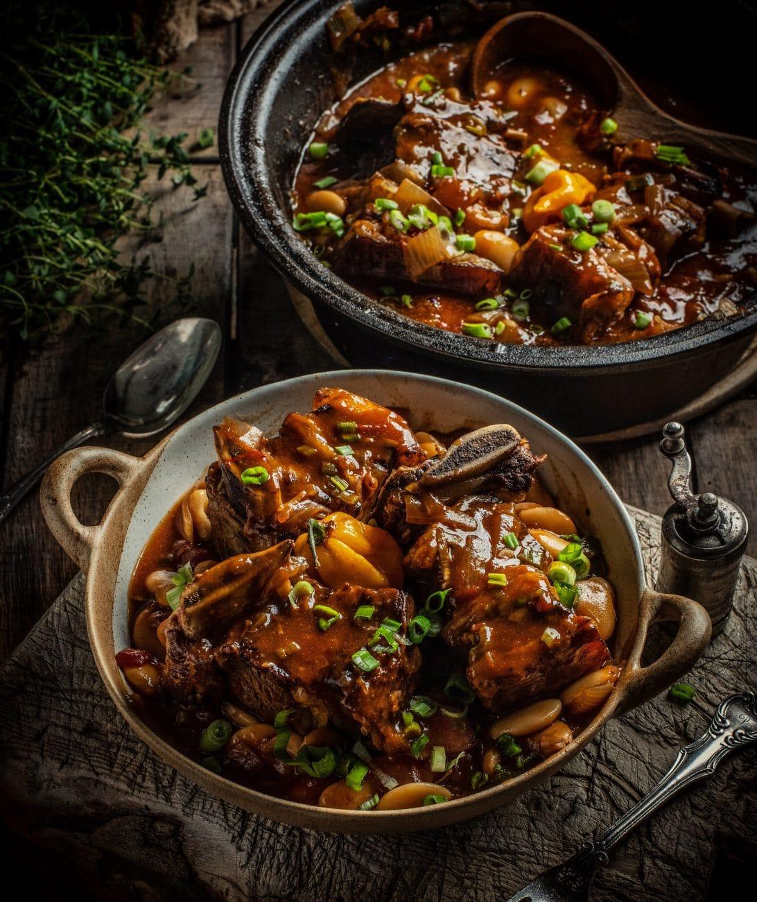 Jamaican Beef Rib Stew