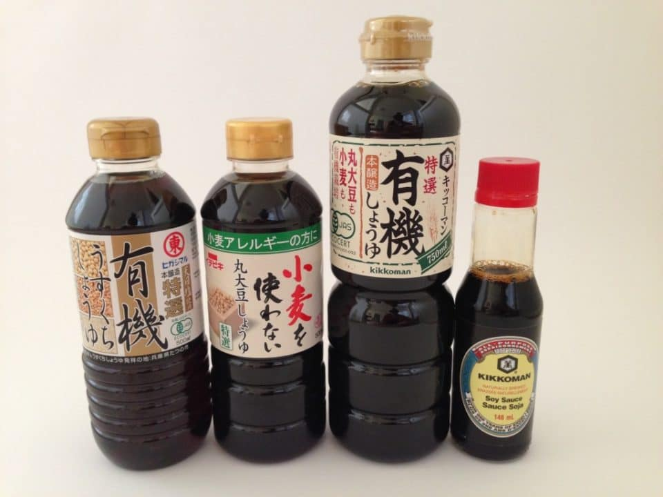 Japanese Soy Sauce (Shoyu)