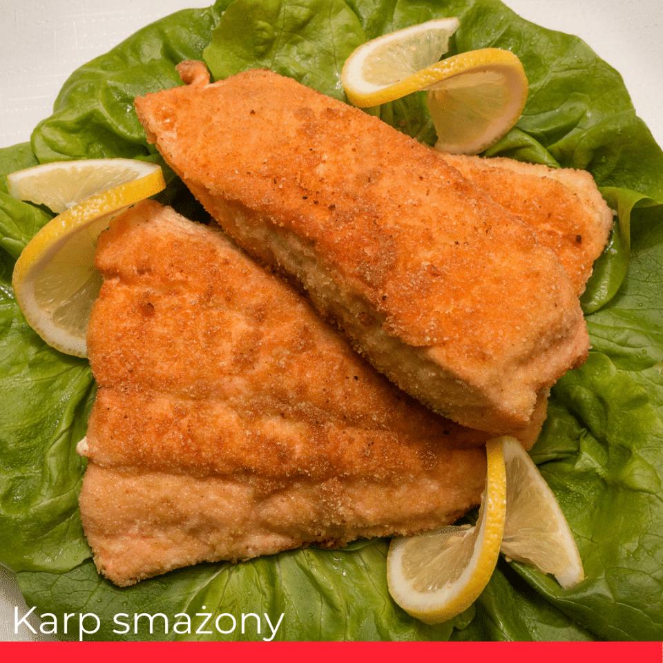 KARP SMAŻONY (fried carp)