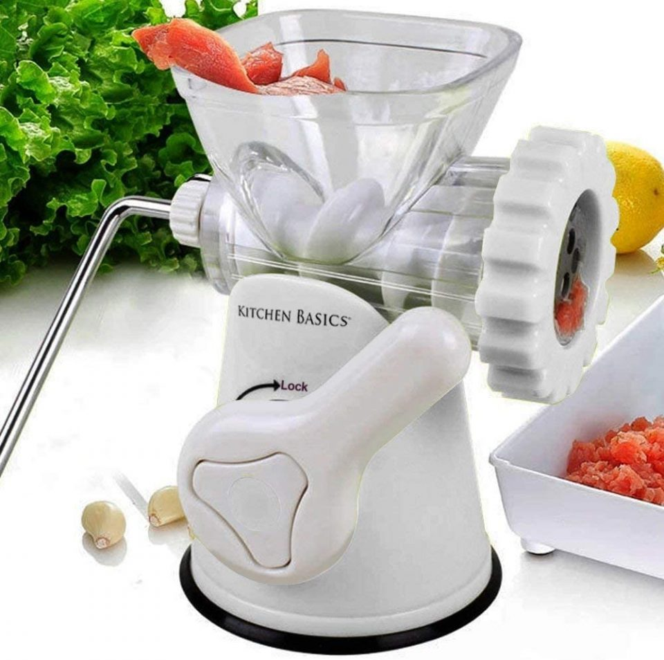 Kitchen Basics Manual Meat Grinder from F&W