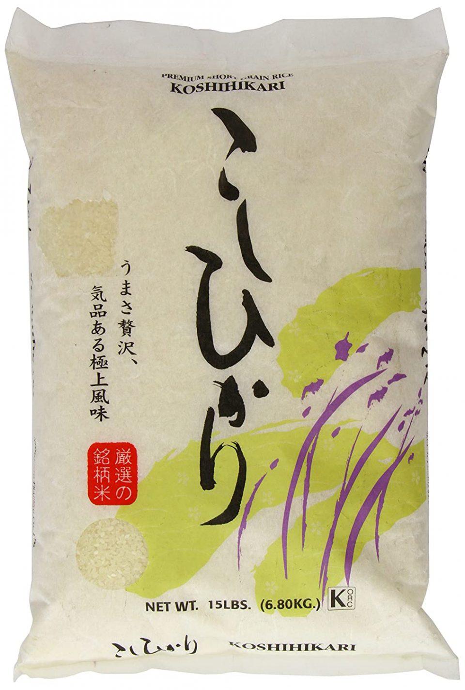 Koshihikari Rice by Shirakiku