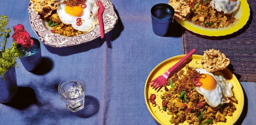 Chicken fried rice from Coconut & Sambal by Lara Lee