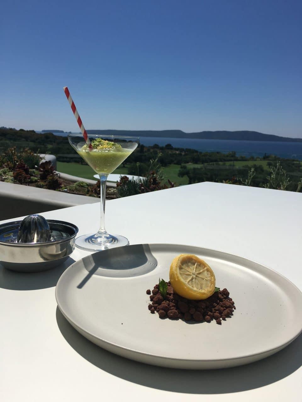 Lemon Dessert by Chef Manolis Stithos