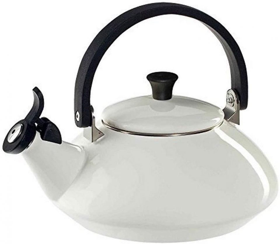 Le Creuset Q9213-16 Enamel-on-Steel Zen Teakettle;
