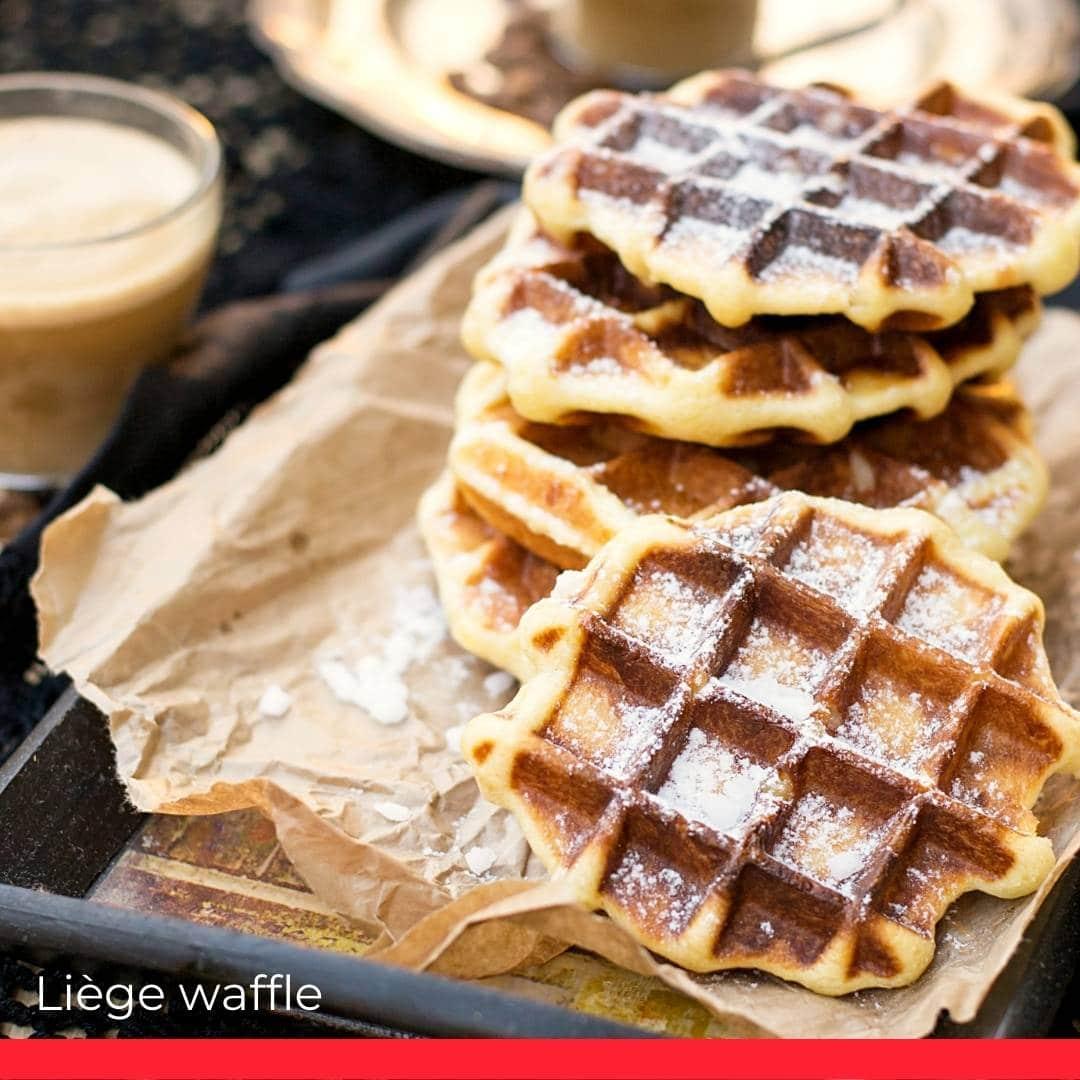 Belgian Waffles – the Liège waffle