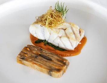 Local Grouper Eggplant Parmeggiana tomato
