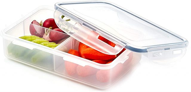 Lock & Lock Easy Essentials On The Go Meal Prep Lunch Box