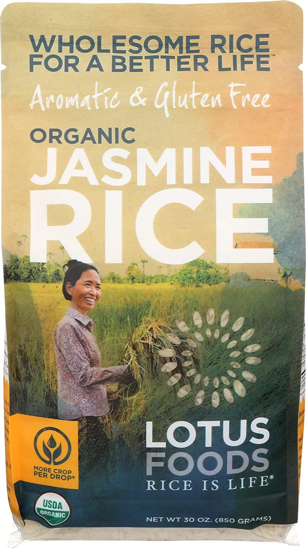 Lotus Foods Organic White Jasmine Rice