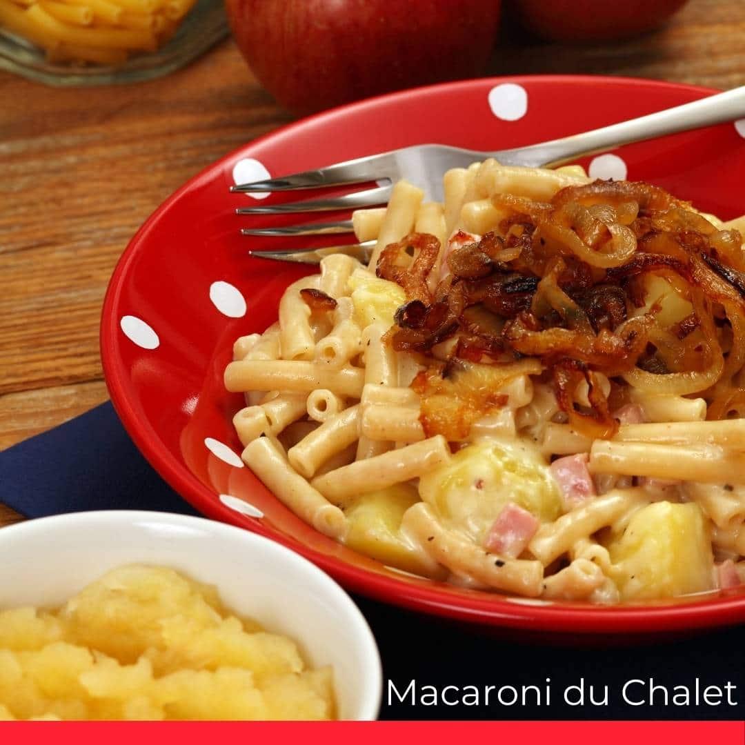 Macaroni du Chalet (or Älpermargronen)
