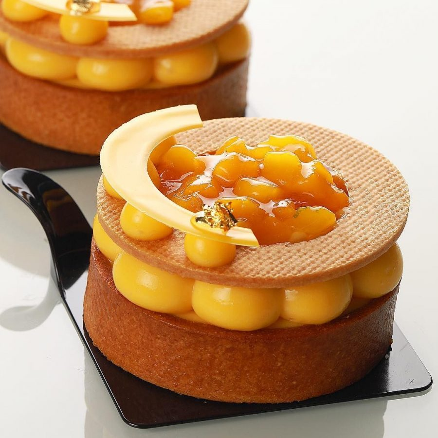 Mango Passion Fruit Tart