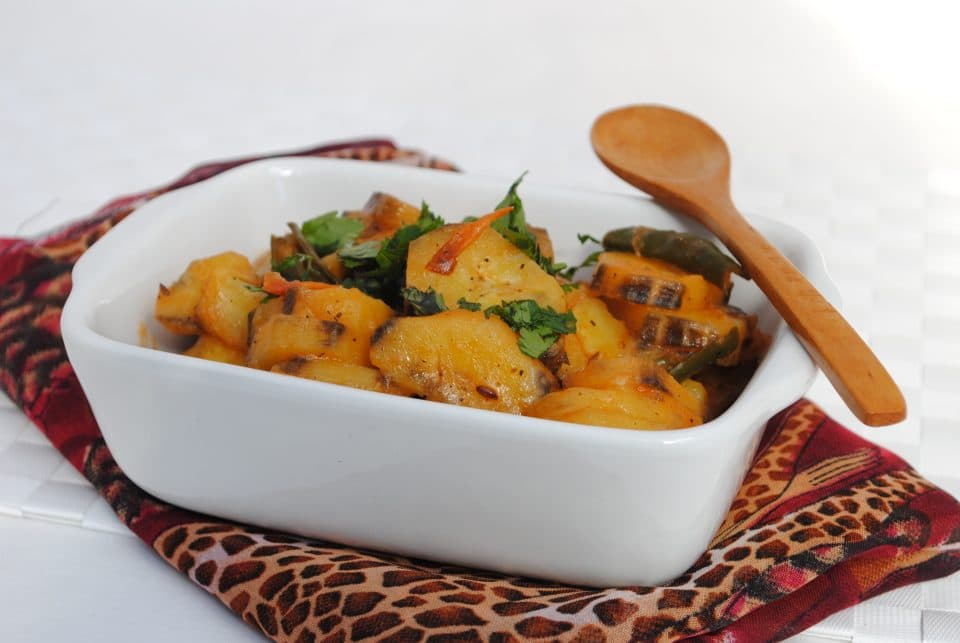 Matoke (Plantain Banana Stew)